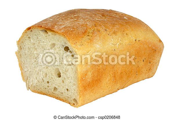 fresh tasty bread -  - csp0206848