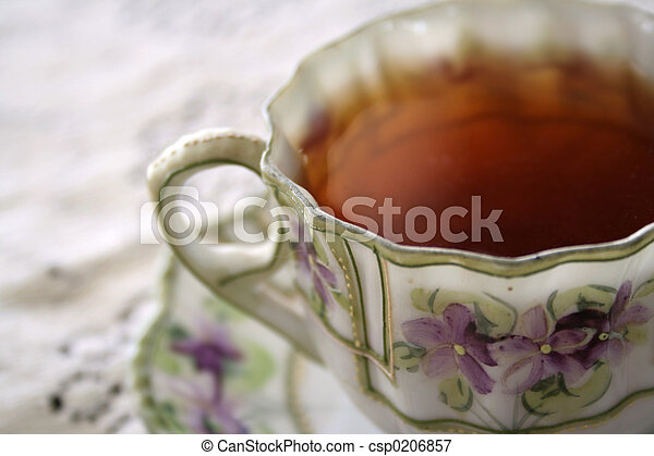 tea violet 01 - csp0206857