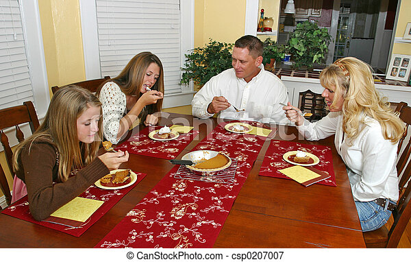 Holiday Family Dessert - csp0207007