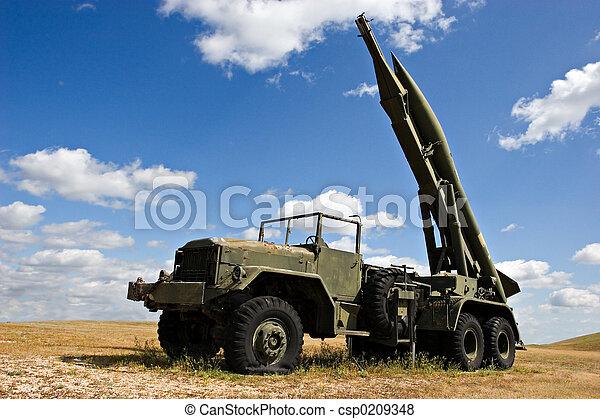 Military Truck - csp0209348