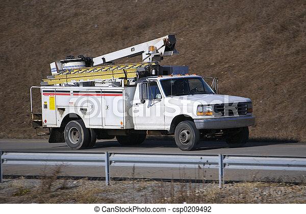 Utility Truck - csp0209492