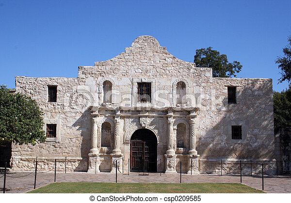 Alamo in San Antonio - csp0209585