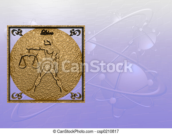 Horoscope, Libra. - csp0210817