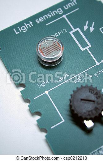 Light sensing unit - csp0212210