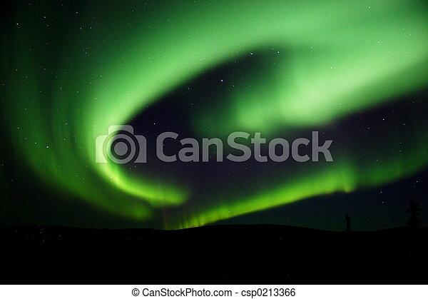Aurora Borealis near - csp0213366