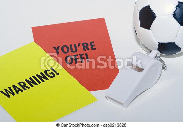 Soccer Referee - csp0213828