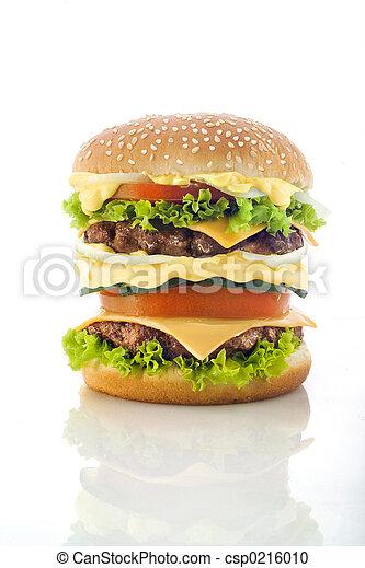 tasty Hamburger - csp0216010