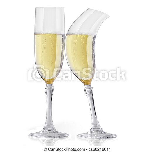Champagne flirting - csp0216011
