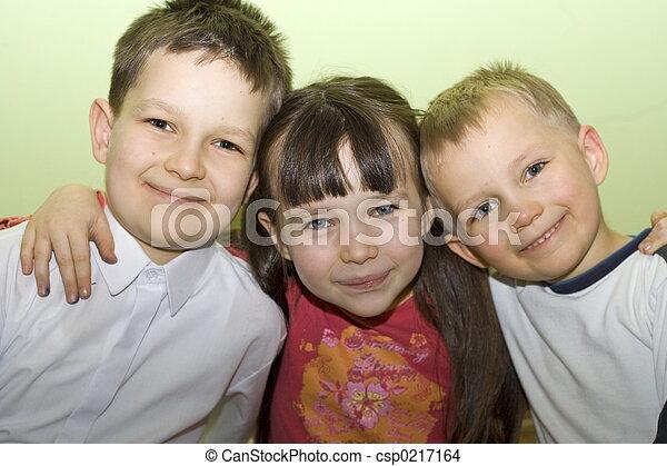 happy family - csp0217164