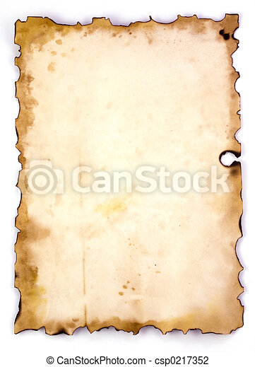 old paper  - csp0217352