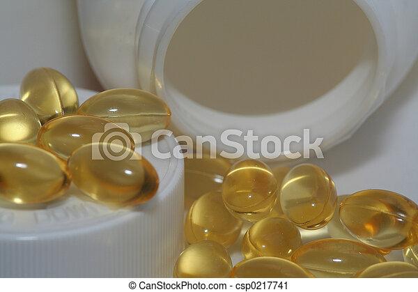 Vitamin Capsules - csp0217741