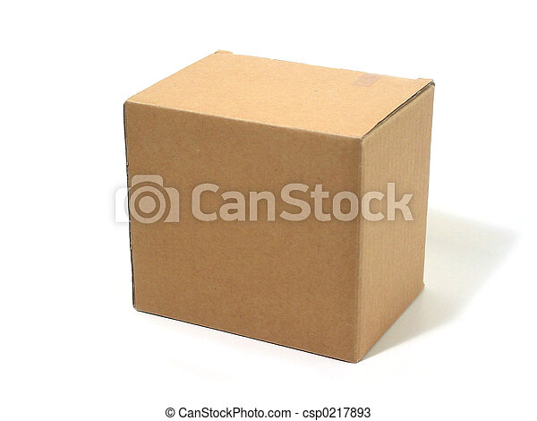 Blank box cardboard - csp0217893
