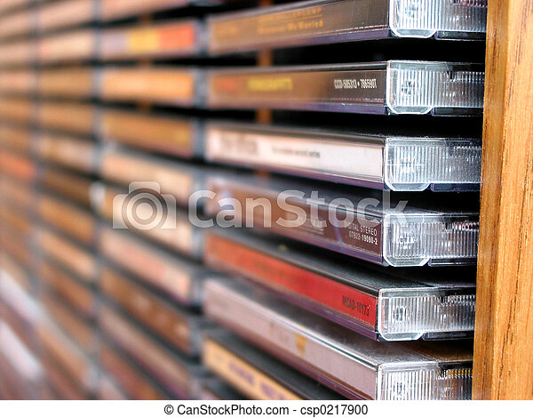 Music cd stack - csp0217900