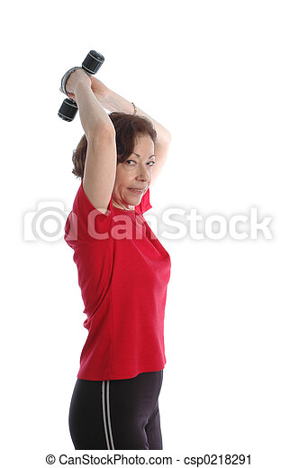 woman exercising 889 - csp0218291