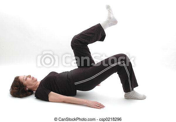 yoga position 969 - csp0218296