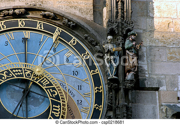 astrological clock - csp0218681