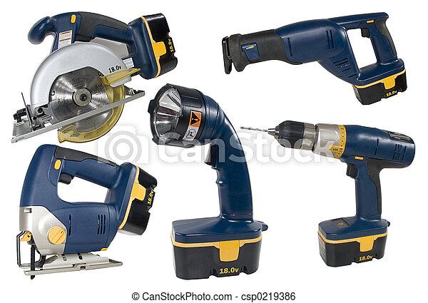 Cprdless Tool Set - csp0219386