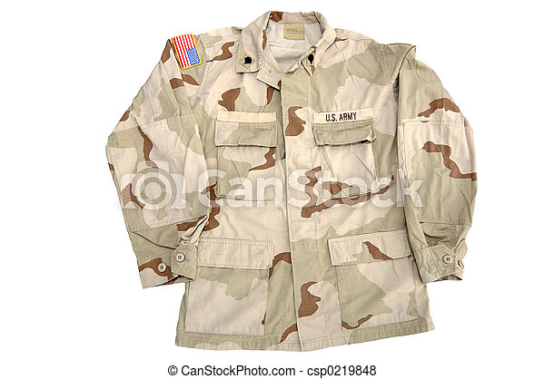 Military - Army Shirt - csp0219848