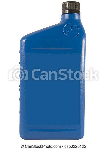 Blue Oil Bottle - csp0220122