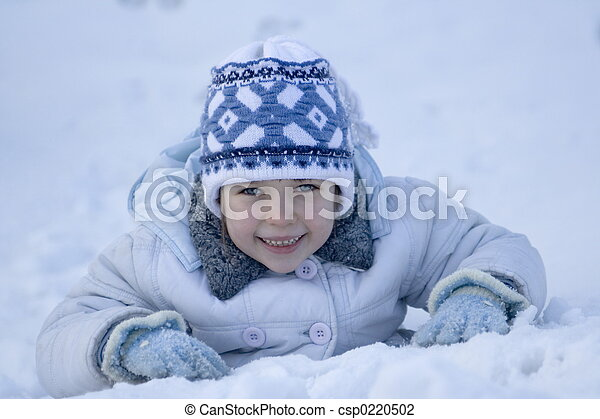 winter girl - csp0220502