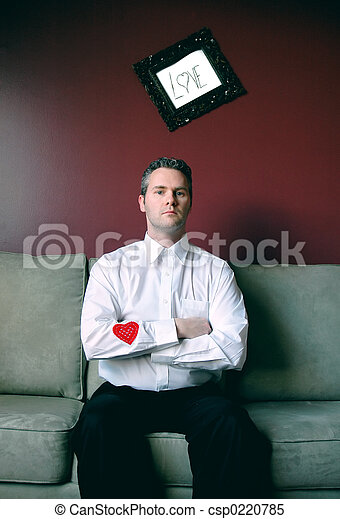 Heart on his sleeve - csp0220785