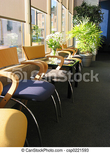Chairs in office - csp0221593