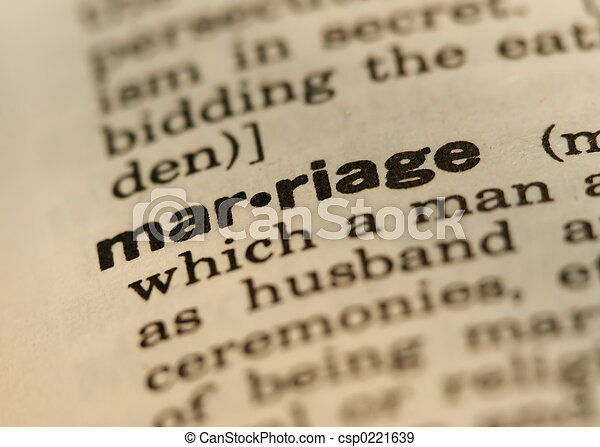 Marriage - csp0221639