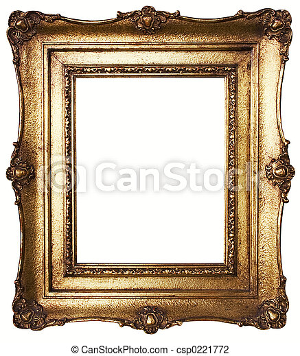 Picture Frame Gold - csp0221772