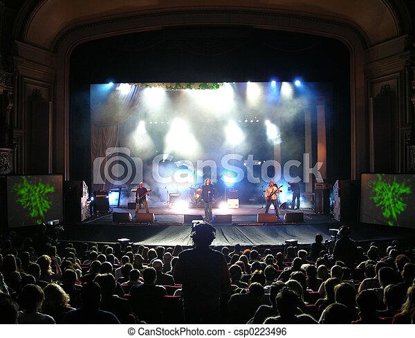 Rock Concert - csp0223496