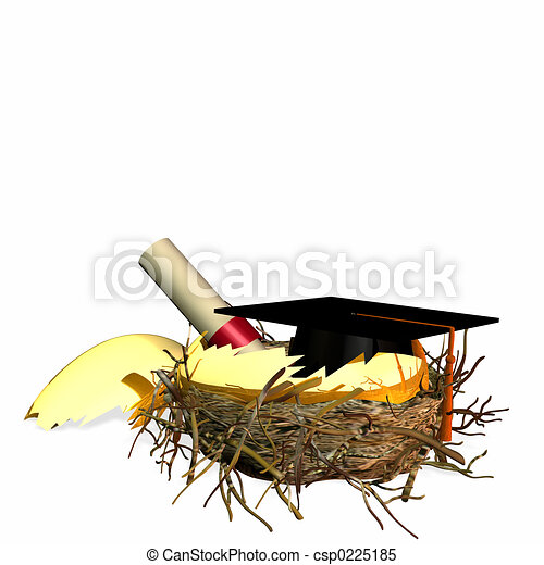 Higher Education Nest Egg - csp0225185