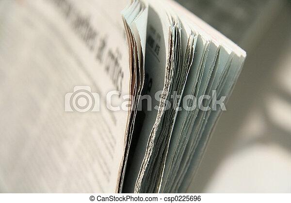 newspaper - csp0225696