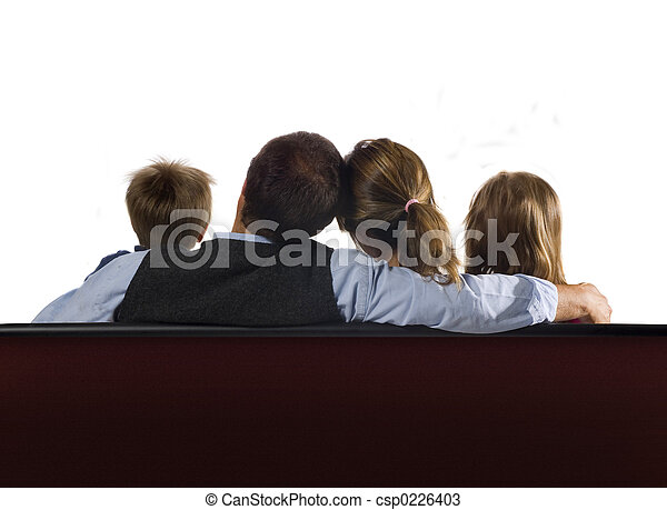 Family and screen - csp0226403