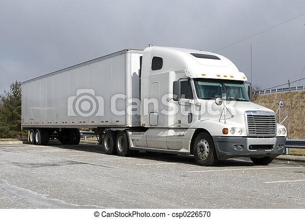 Semi Truck - csp0226570