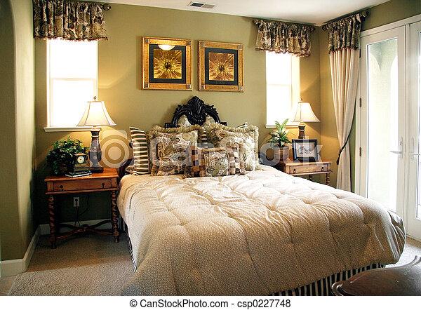 Images de luxe chambre coucher csp0227748 recherchez for Voir les chambres a coucher