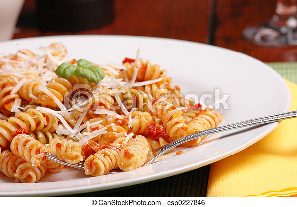 Italian lunch - csp0227846