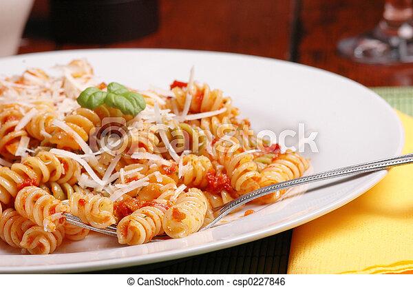 Italian lunch - csp0227846