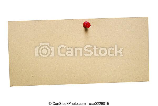 Brownish Note w/Path - csp0229015