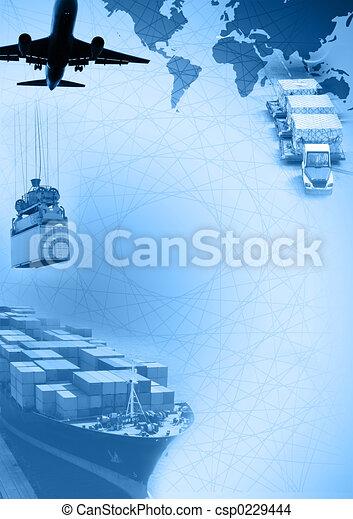 Freight template - csp0229444