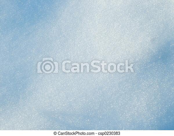 Snow background - csp0230383