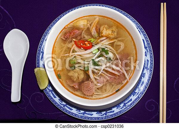 Beef Noodle Soup - csp0231036