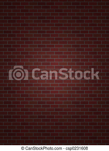 Perfect Brick Wall - csp0231608