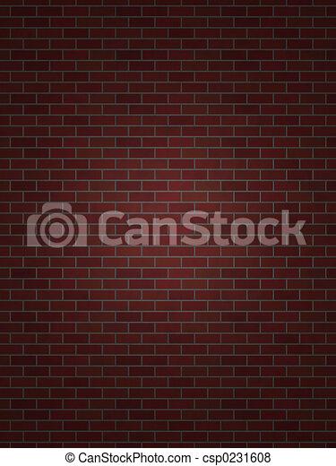 Perfect Brick Wall - csp0231608