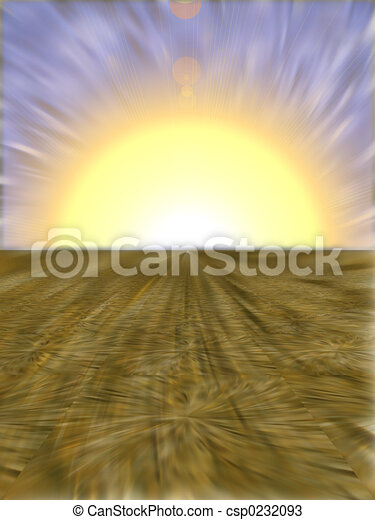Fantastic Sunrise - csp0232093