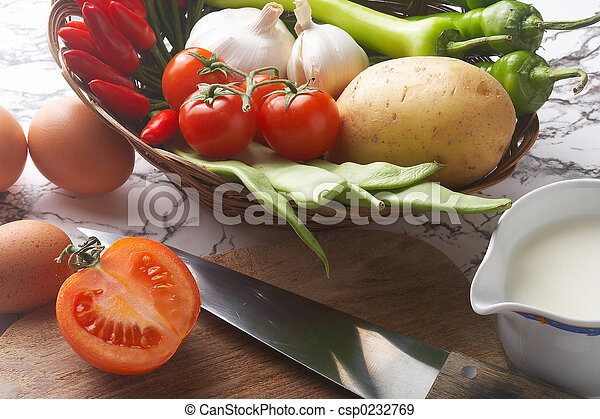 cook - kochen - csp0232769