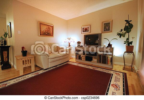 Living room - csp0234696