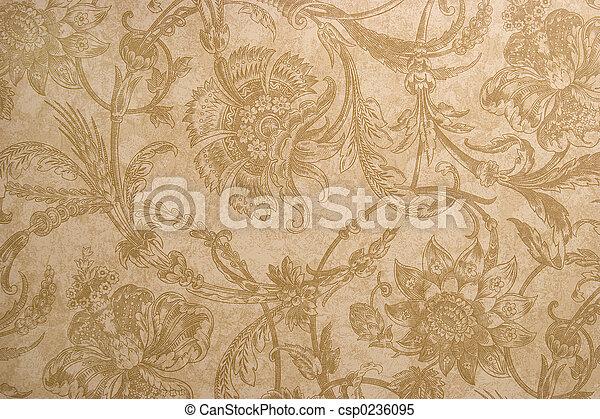 mönster, papper - csp0236095