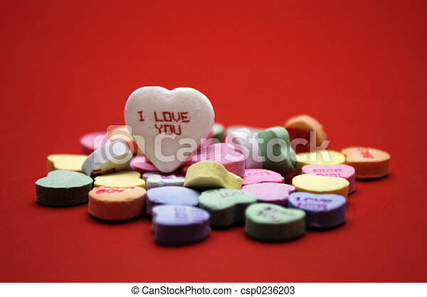 \'I love you\' message