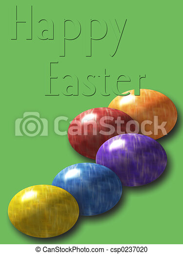 Happy Easter - csp0237020