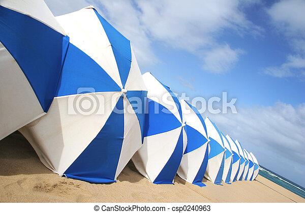 Beach Umbrellas - csp0240963