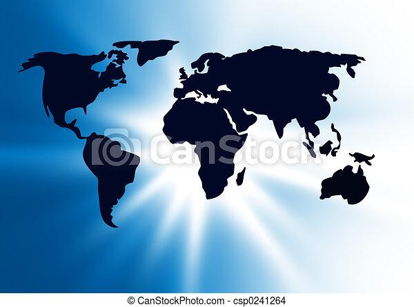 world map - csp0241264